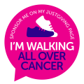 'Walking All Over Cancer'